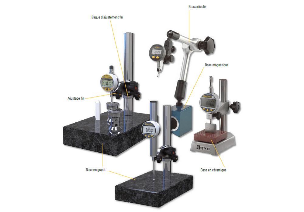 Support et tables de mesure pour modèles Sylvac