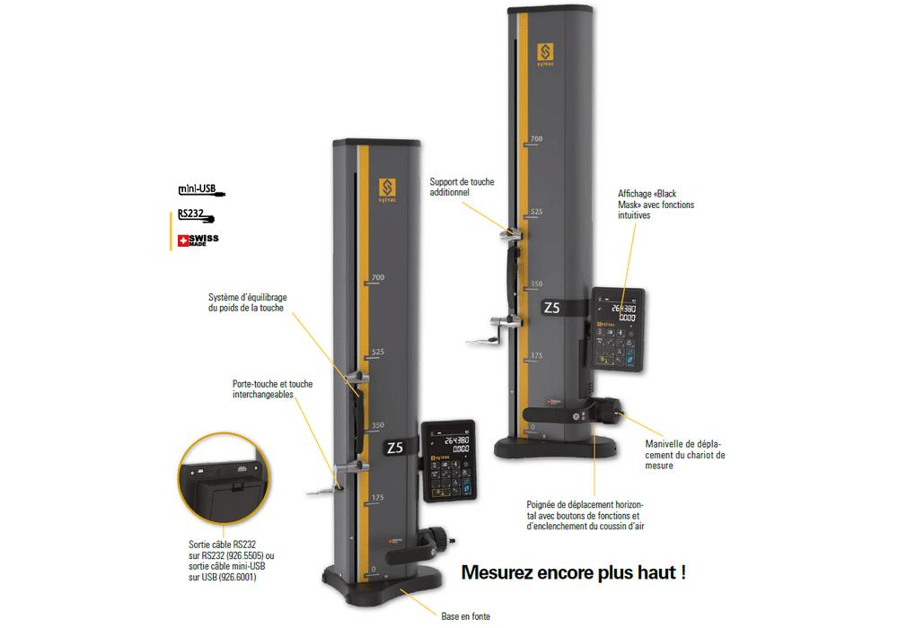 Colonne de mesure Sylvac modèle Z5