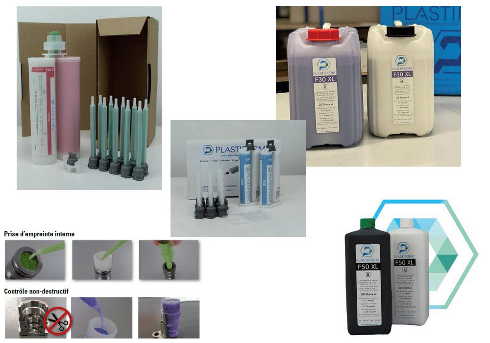Prise d'empreinte Plastiform - Produits liquides SRL
