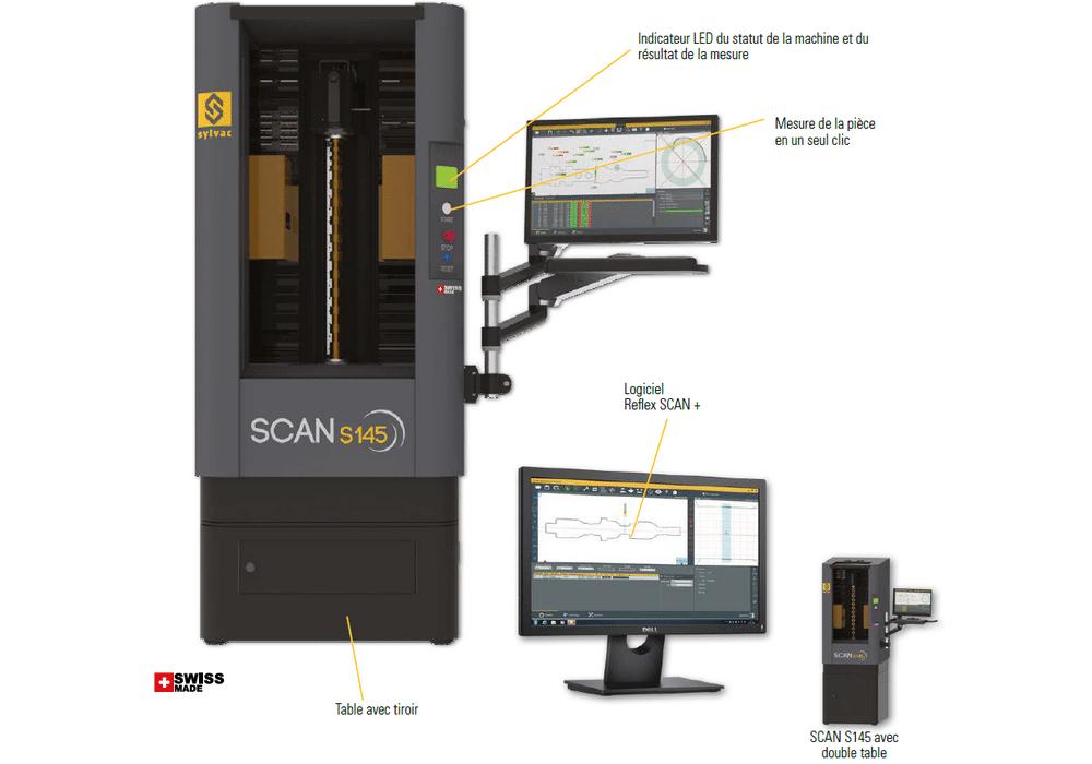 Machine optique Sylvac Scan S145