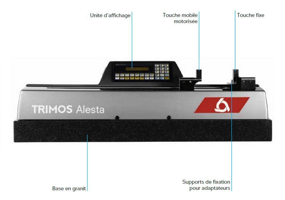 Banc de mesure Trimos modèle ALESTA