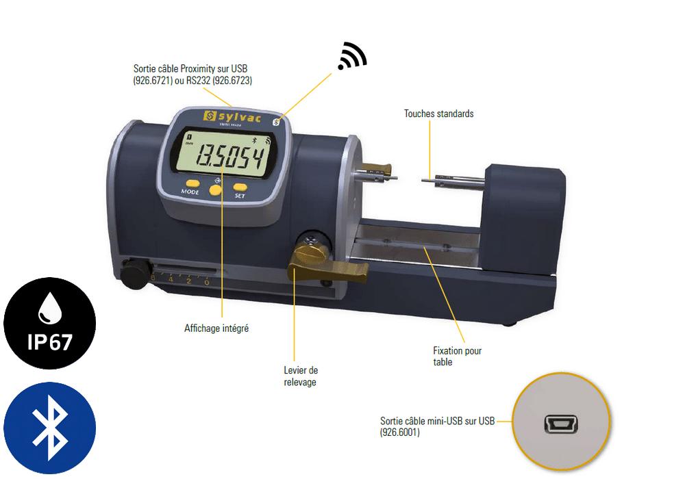Banc mesure PS16 V2 smart Sylvac