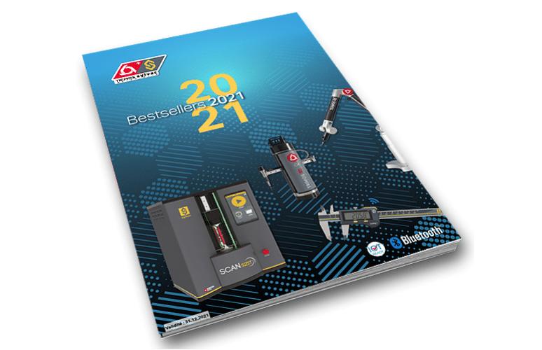 Catalogue bestsellers 2021 Trimos Sylvac France